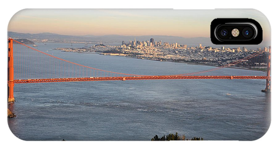 Golden Gate Bridge IPhone X Case featuring the photograph The Golden Gate Bridge by Eryn Carter