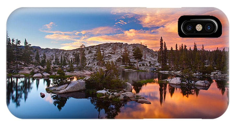 Brian Knott IPhone X Case featuring the photograph The Great Divide by Brian Knott Photography