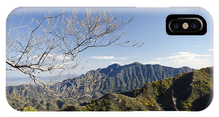 China Landscape IPhone X Case featuring the photograph The Great Wall 834 by Terri Winkler