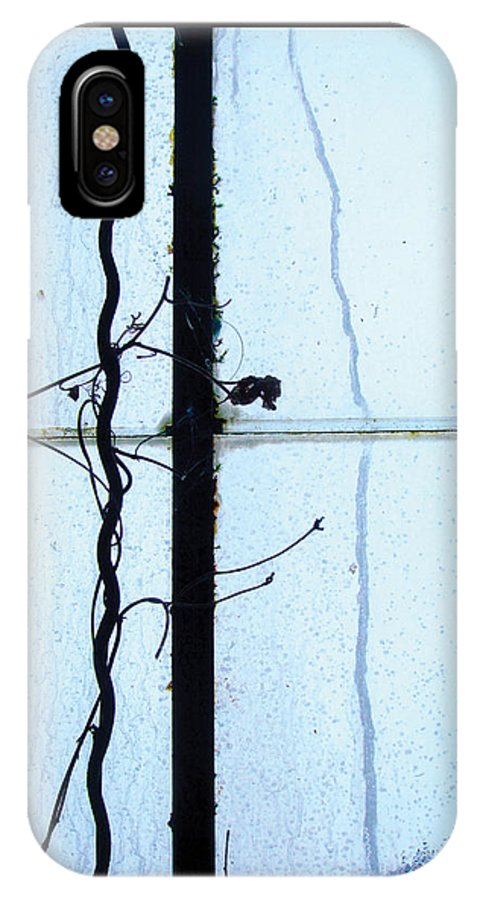 Plants IPhone X Case featuring the photograph The Greenhouse 23 by Mark Fearn