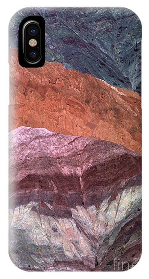 Argentina IPhone X Case featuring the photograph The Hill Of Seven Colors Argentina by James Brunker