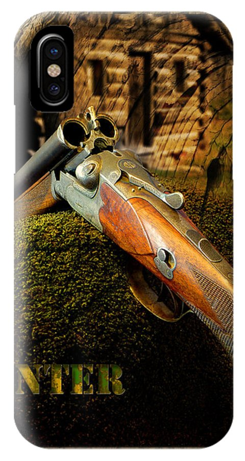 Hunting IPhone X Case featuring the photograph The Hunter by John Anderson