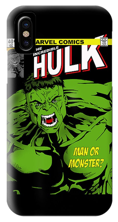 buy popular 707bc 4cfce The Incredible Hulk IPhone X Case