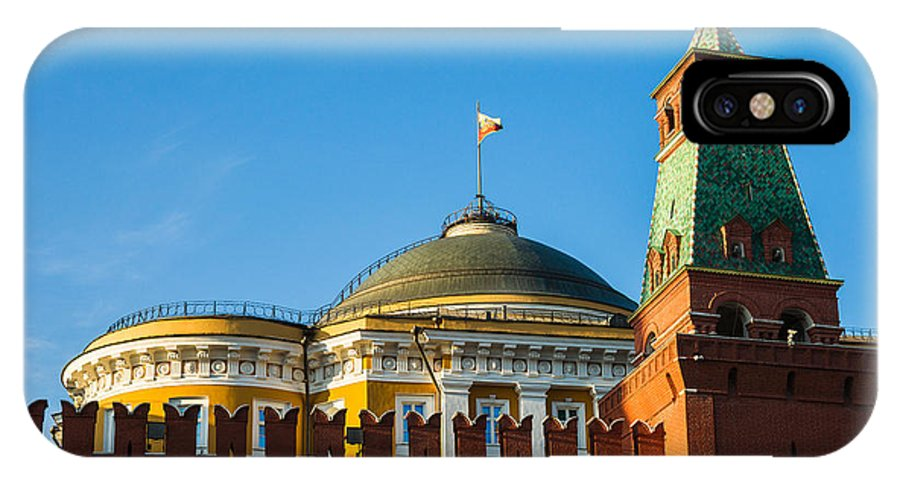Architecture IPhone X Case featuring the photograph The Kremlin Senate Building by Alexander Senin