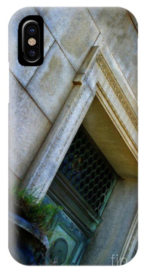 Grave IPhone X Case featuring the photograph The Last Door by Henrik Lehnerer