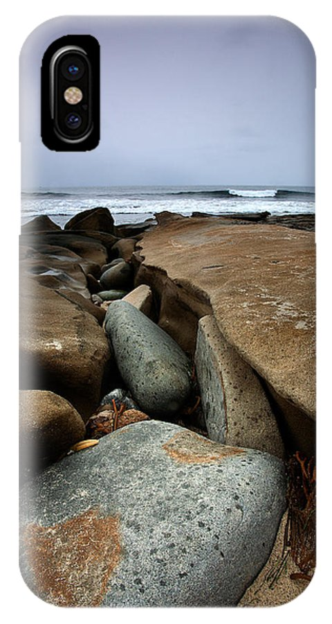 Beach IPhone X Case featuring the photograph The Light by Peter Tellone