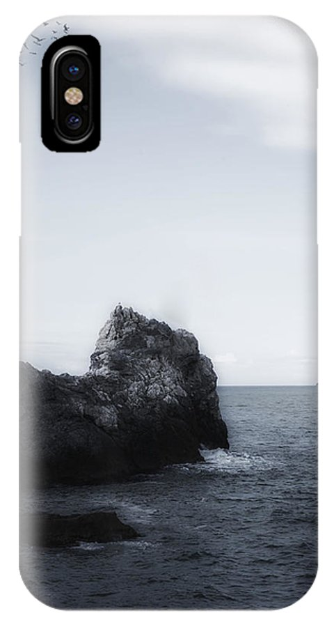 Sea IPhone X Case featuring the photograph The Lighthouse by Joana Kruse