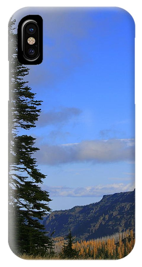 Tree IPhone X Case featuring the photograph The Lone Tree by JoJo Photography