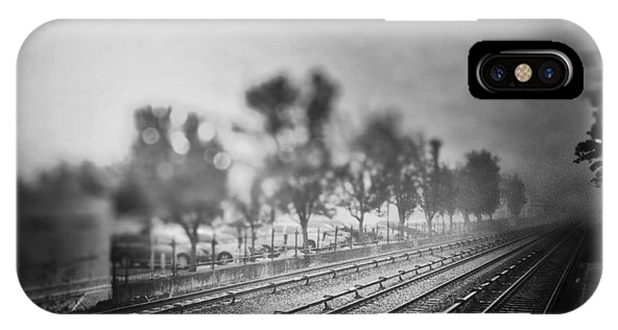 Long IPhone X Case featuring the photograph The Long Road by Angelo Merluccio