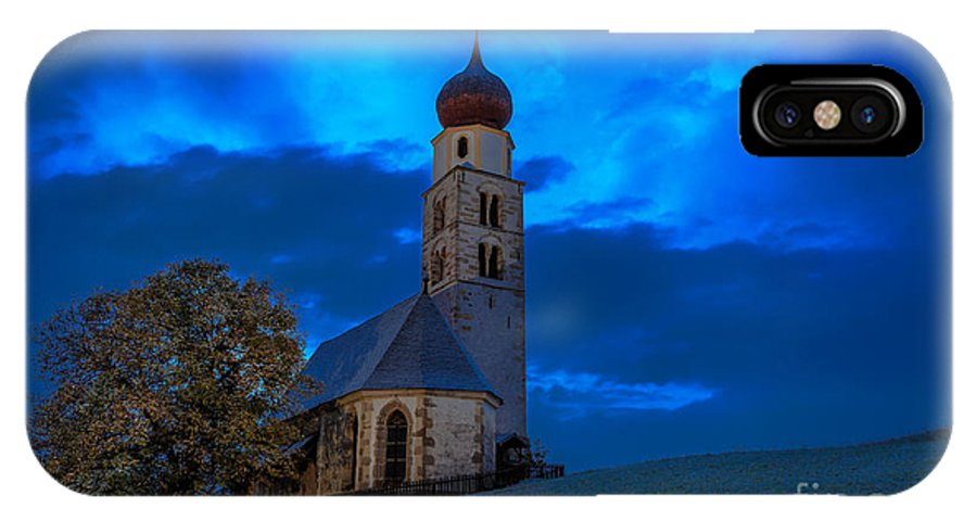 Dolomites IPhone X Case featuring the photograph The Lord Is My Light - The Italian Dolomites by Kim Petersen