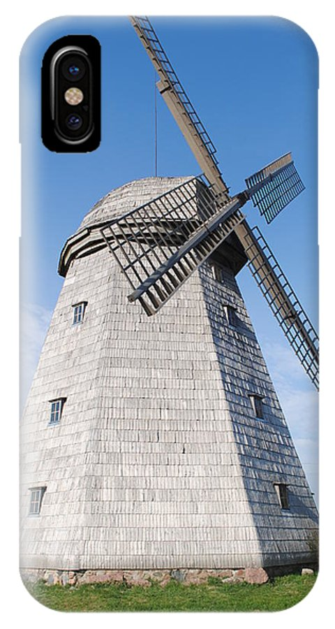 Mill IPhone X Case featuring the photograph The Mill by Aurelijus Velyvis