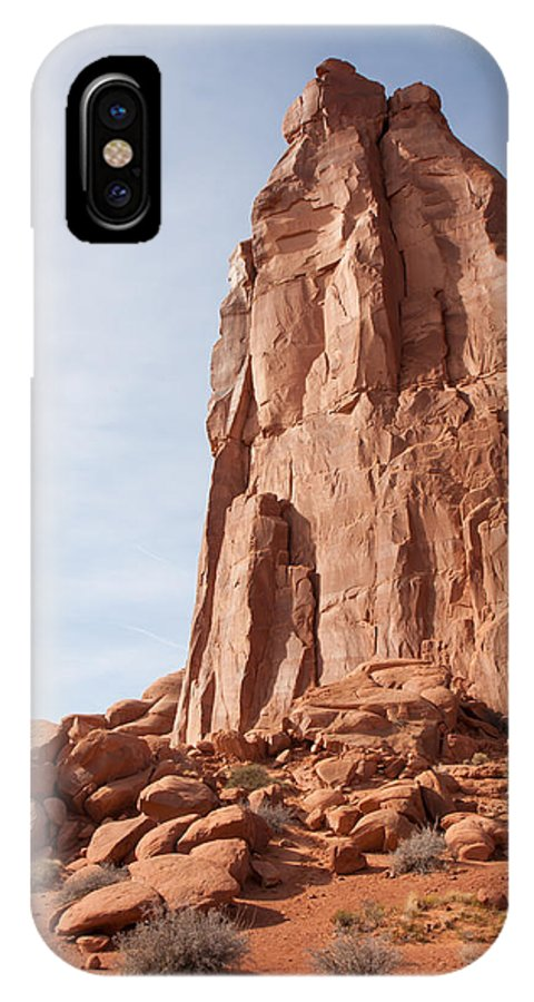 Nature IPhone X Case featuring the photograph The Monolith by John M Bailey