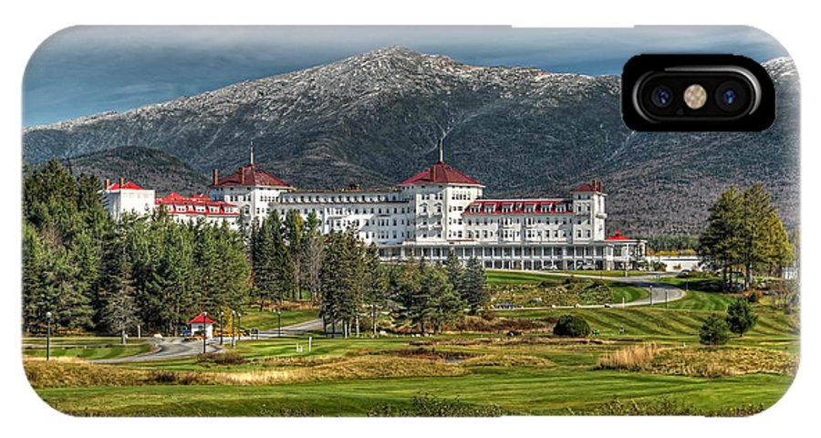 Mount Washington Hotel IPhone X Case featuring the photograph The Mount Washington Hotel by Liz Mackney
