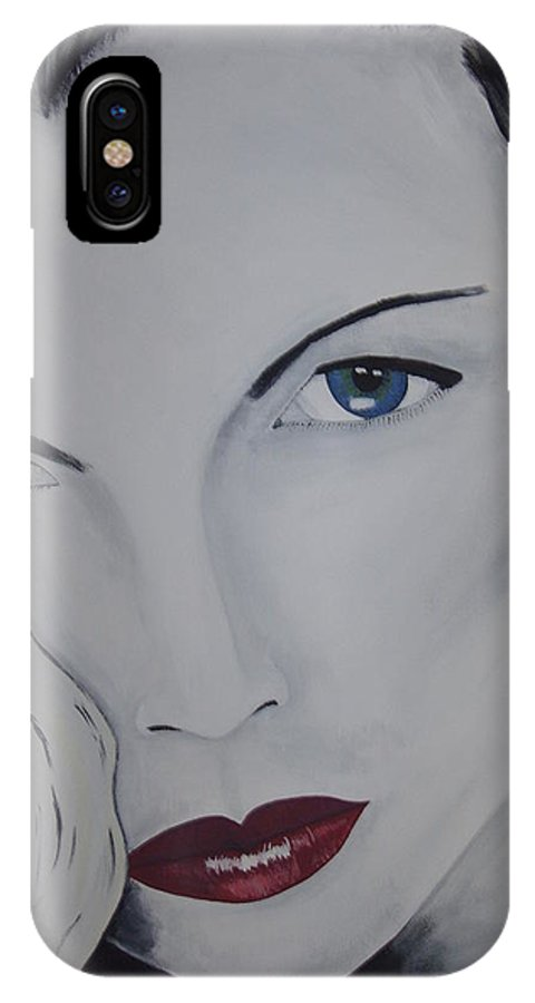 Beauty IPhone Case featuring the painting The Natural by Dean Stephens