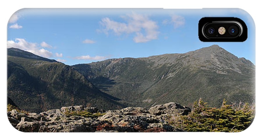 White Mountain National Park IPhone X Case featuring the photograph The Northern Presidentials by Geoffrey Bolte