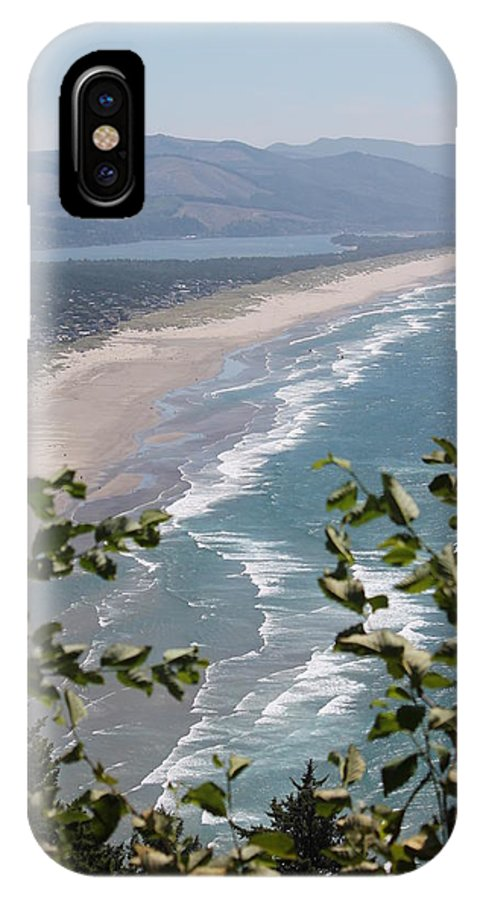 Water IPhone X / XS Case featuring the photograph The Ocean by Minnie Davis