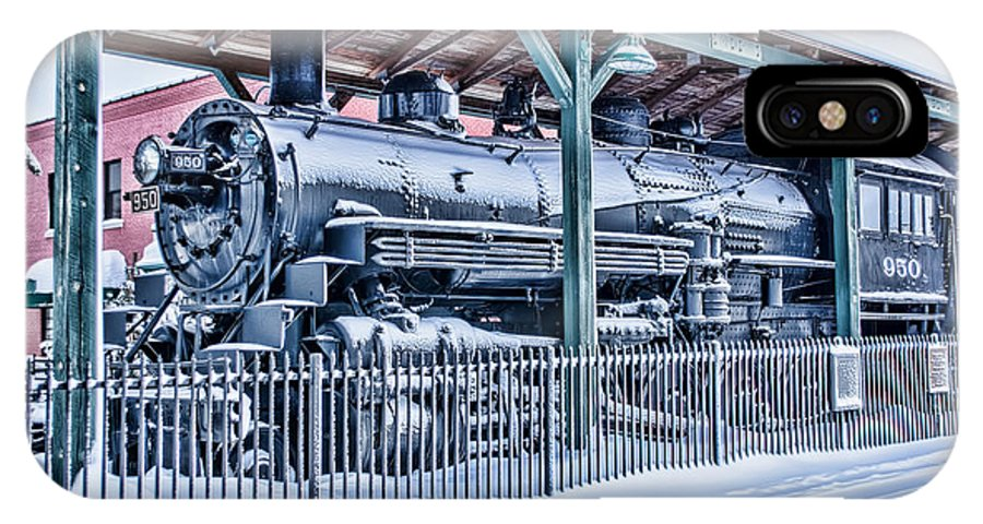 Train Engines IPhone X Case featuring the photograph The Old 950 by John Welling
