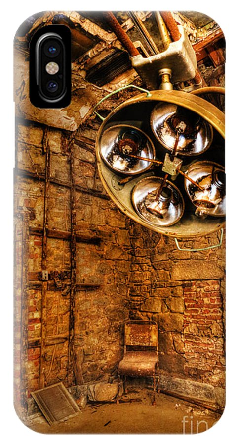 Eastern State Penitentiary IPhone X Case featuring the photograph The Operating Room - Eastern State Penitentiary by Lee Dos Santos