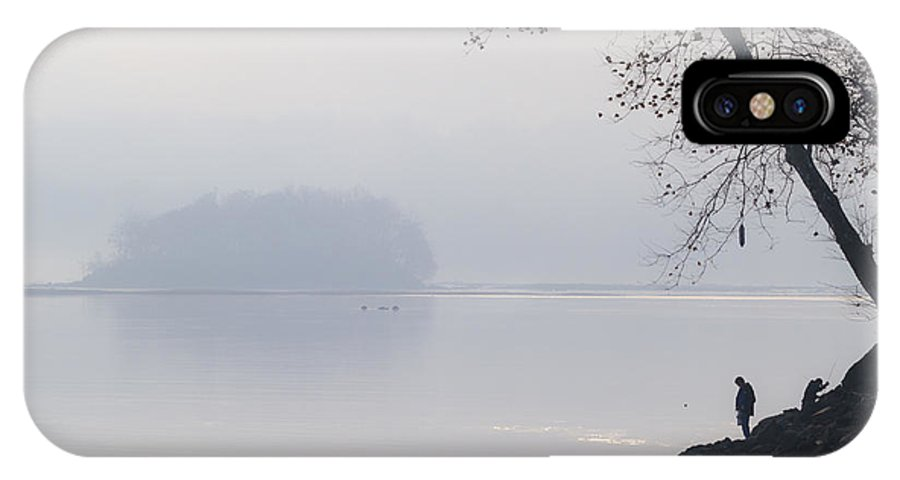 Susquehana River IPhone X Case featuring the photograph The Other Side Of Conowingo by Edward Kreis