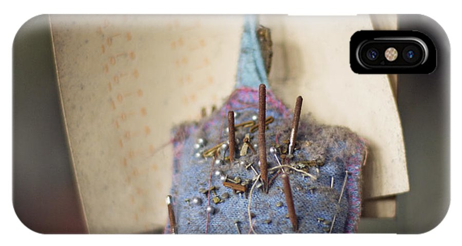 Pin Cushion IPhone X Case featuring the photograph The Pincushion by Jillian Audrey Photography
