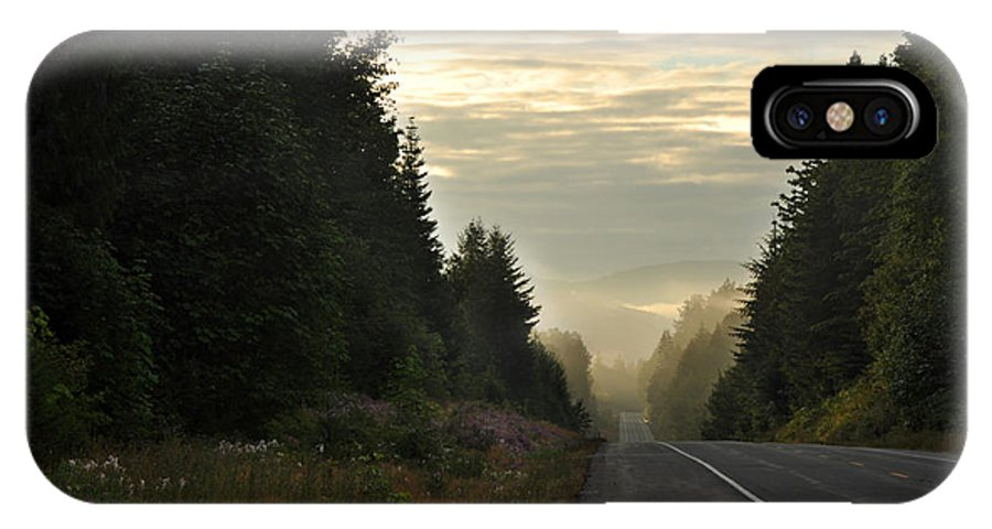 Olympic National Park IPhone X Case featuring the photograph The Road Less Traveled by Andrew Broom
