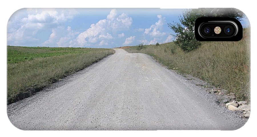 Road IPhone X Case featuring the photograph The Road To Heaven by Laura Corebello