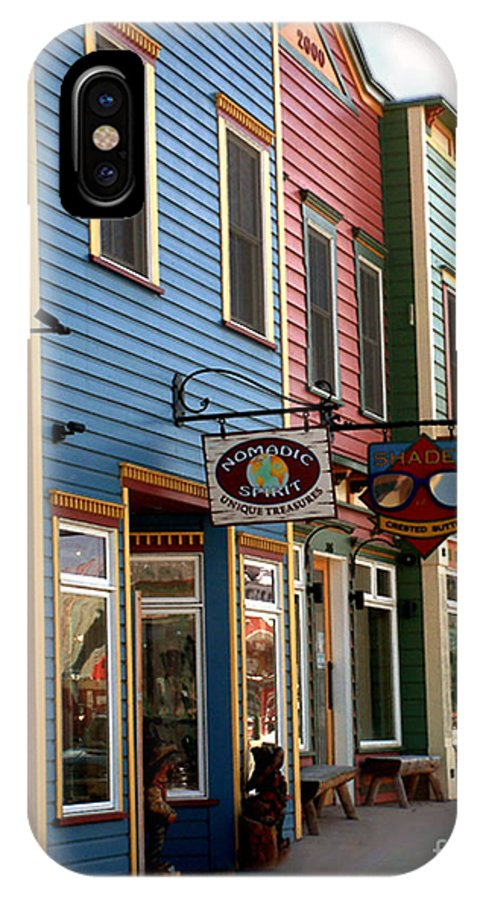 Landscape IPhone Case featuring the photograph The Shops In Crested Butte by RC DeWinter