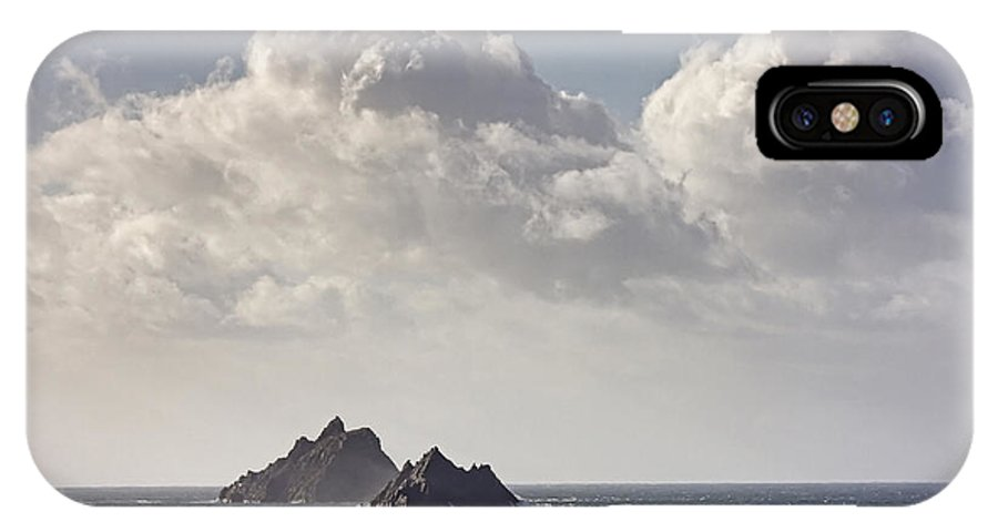 Ireland IPhone X Case featuring the photograph The Skelligs by Michael Walsh