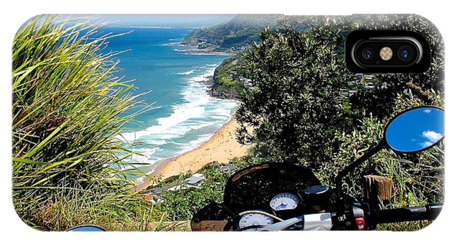 The South Coast - Paul Freeman IPhone X Case featuring the photograph The South Coast by Paul Freeman