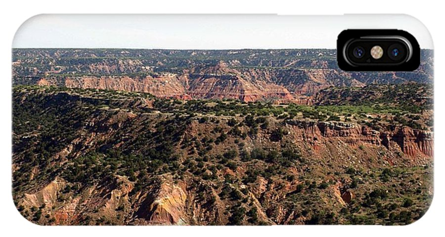 Palo Duro Canyon IPhone X Case featuring the photograph The Spanish Skirts by Valerie Mellema