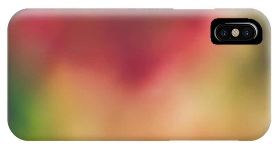 Abstract IPhone X / XS Case featuring the photograph The Sunkissed Pansy by Jessica Yahn