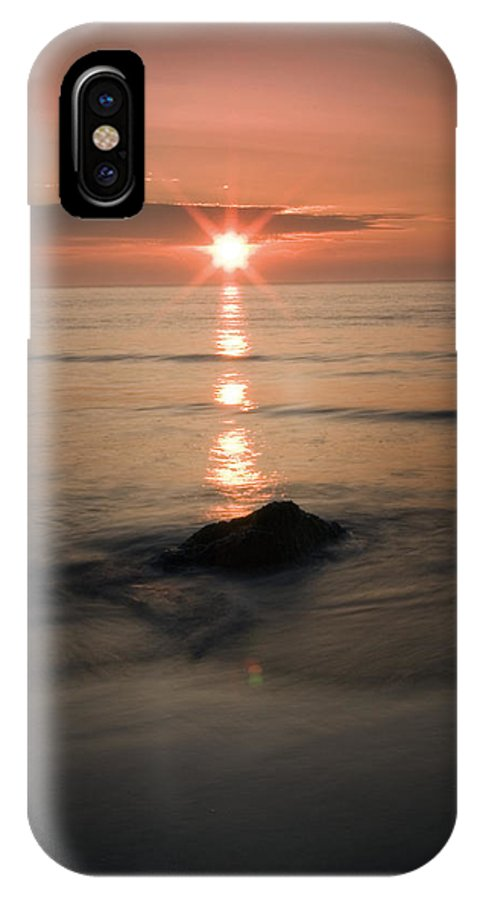 Sunset IPhone X Case featuring the photograph The Sunset by Andrew James