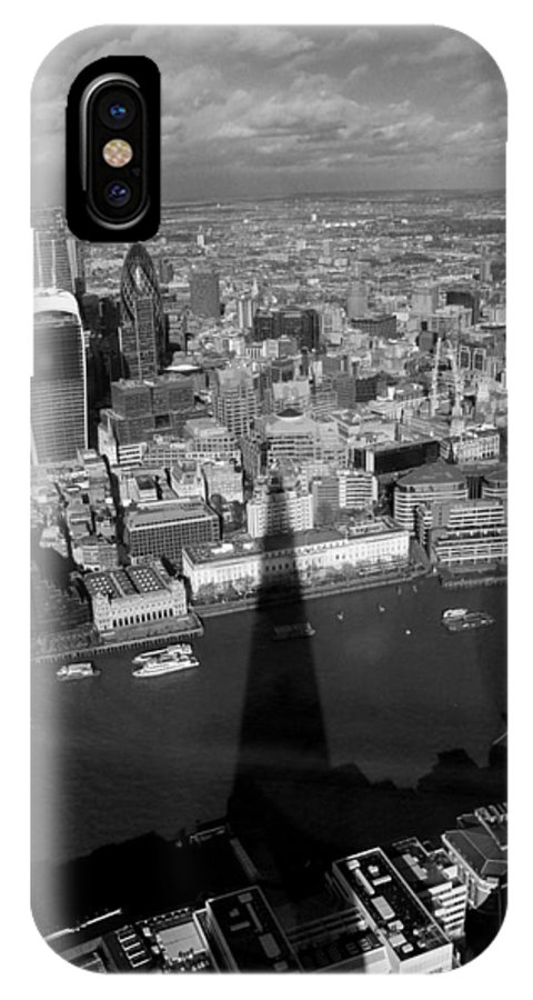 London IPhone X Case featuring the photograph The View From The Shard II by Sam Haines