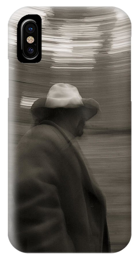 Gallatin Canyon IPhone X Case featuring the photograph The Wanderer by Jason Standiford