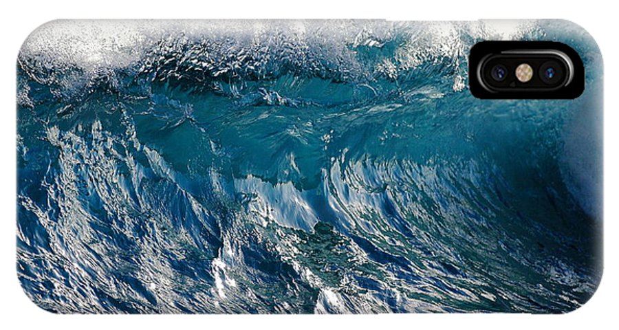 Cresting Wave IPhone X Case featuring the photograph The Wave by Richard Cheski