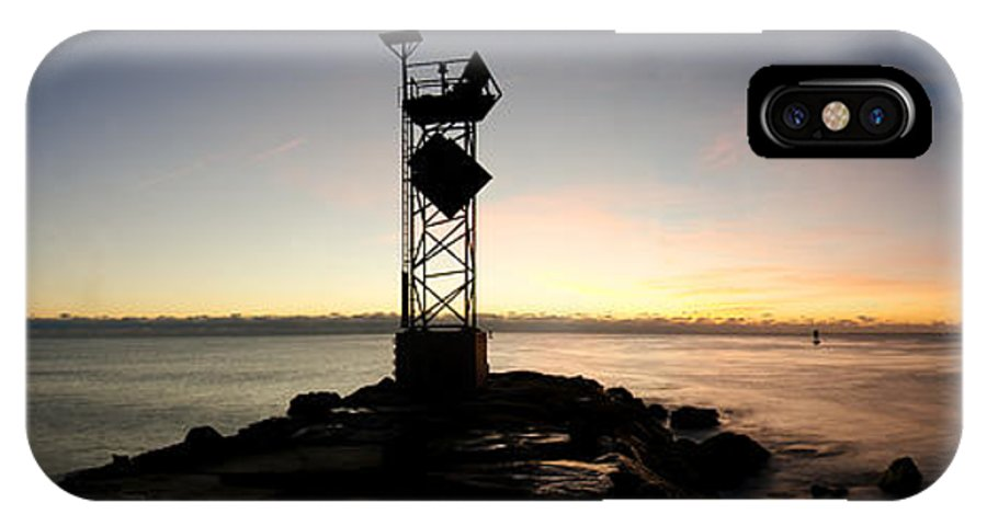 2013 IPhone X Case featuring the photograph The Width Of Morning by Benjamin DeHaven