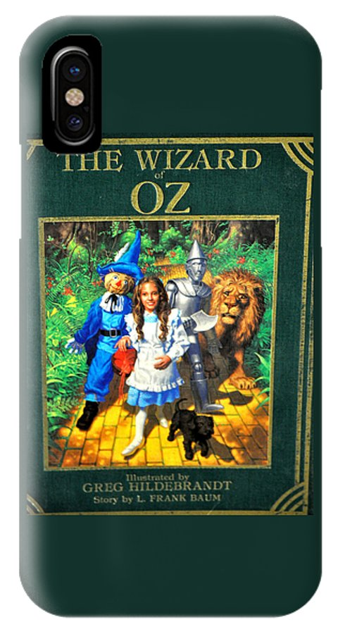 Wizard IPhone X Case featuring the photograph The Wizard Of Oz by Jay Milo