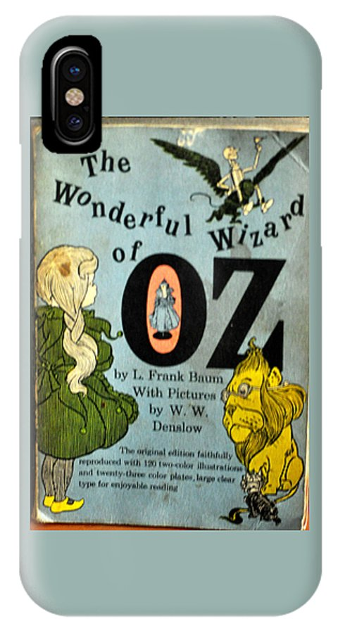 Wizard IPhone X Case featuring the photograph The Wonderful Wizard Of Oz by Jay Milo