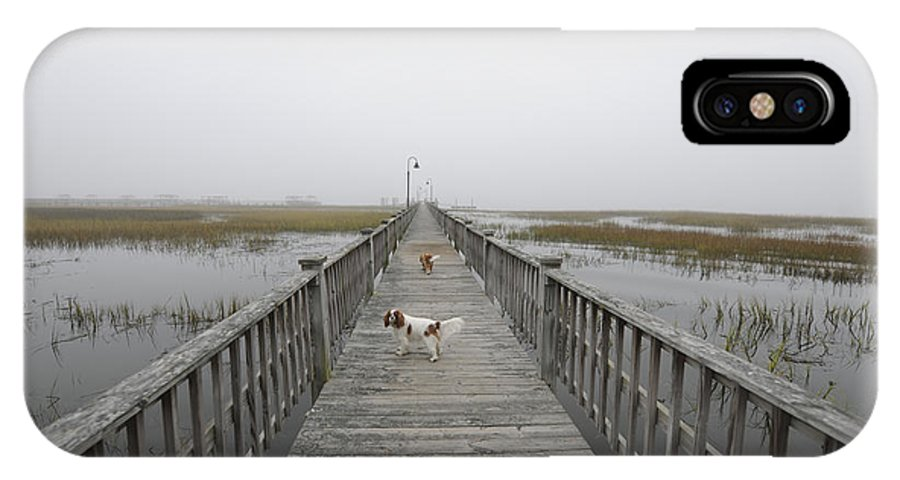 Fog IPhone X Case featuring the photograph Thick As Peanut Butter by Dale Powell
