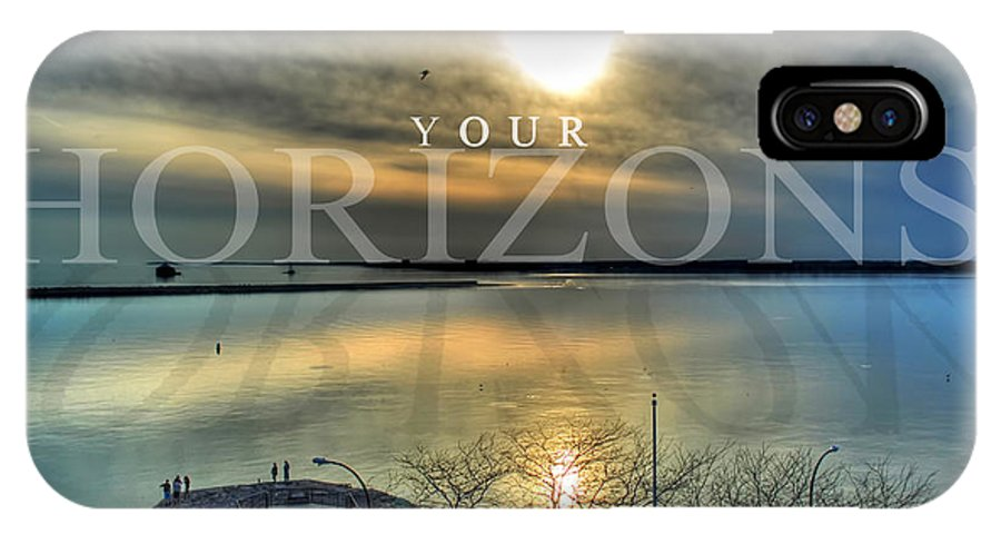 Optimism IPhone X Case featuring the photograph Thinking Outside The Box by Michael Frank Jr