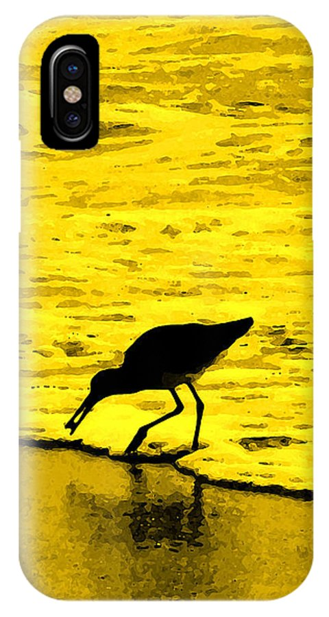 Florida IPhone X Case featuring the photograph This Beach Belongs To Me by Ian MacDonald