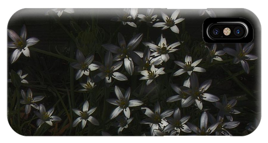 Flower IPhone X / XS Case featuring the digital art This Year's Bloom by John Feiser