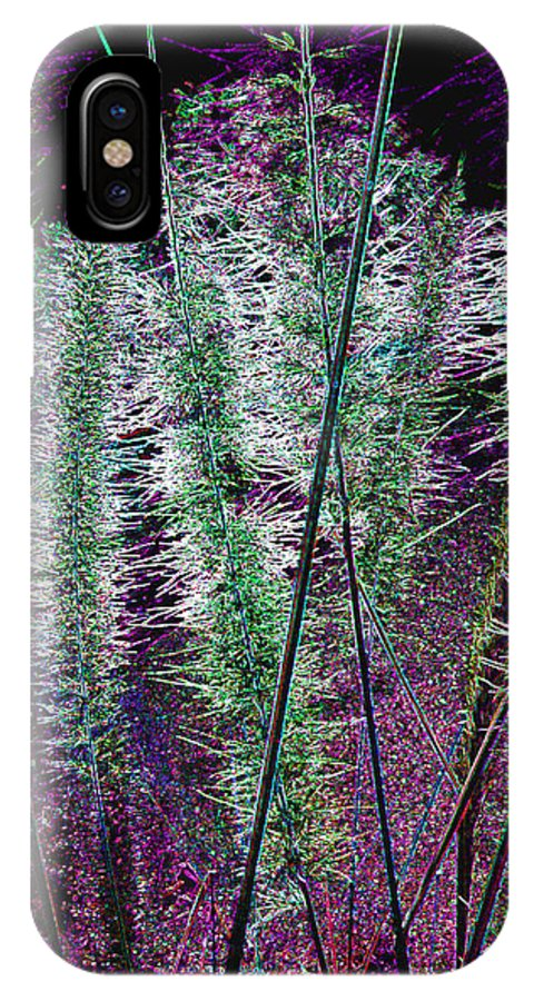 Thistles IPhone X Case featuring the photograph Thistles 5 by Bruce Iorio