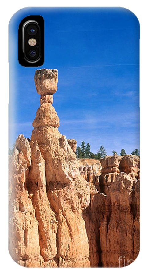 Thor's Hammer IPhone X / XS Case featuring the photograph Thors Hammer, Bryce Canyon by David Davis