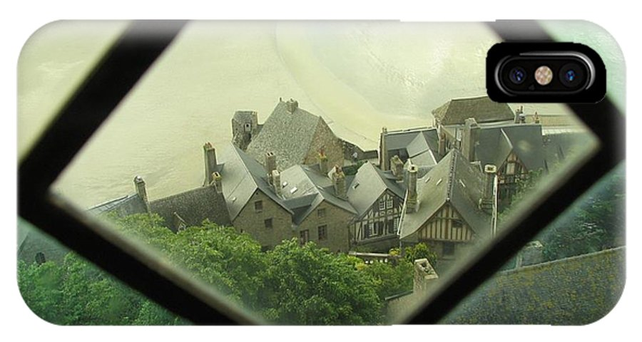 Le Mont St-michel IPhone Case featuring the photograph Through A Window To The Past by Mary Ellen Mueller Legault
