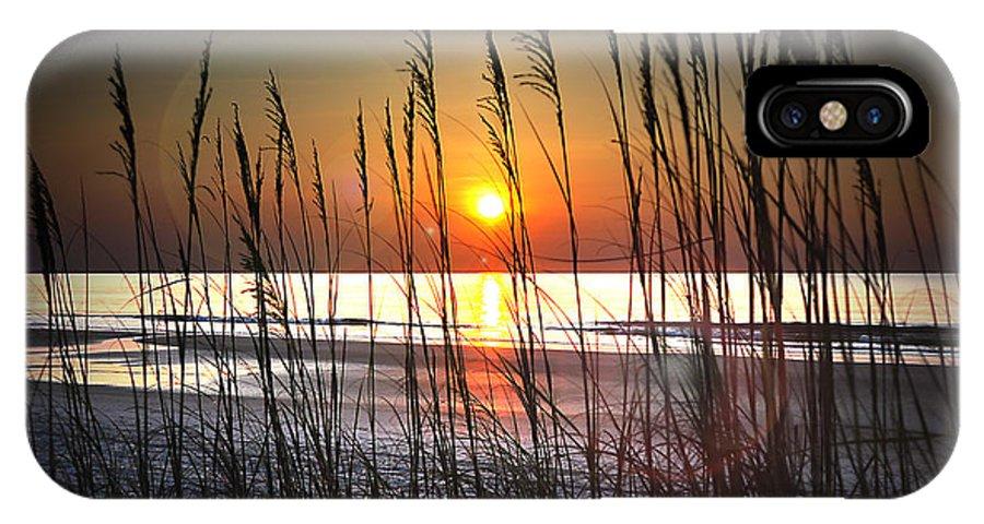 Florida Coast IPhone X Case featuring the photograph Through The Oats by James Buzzella