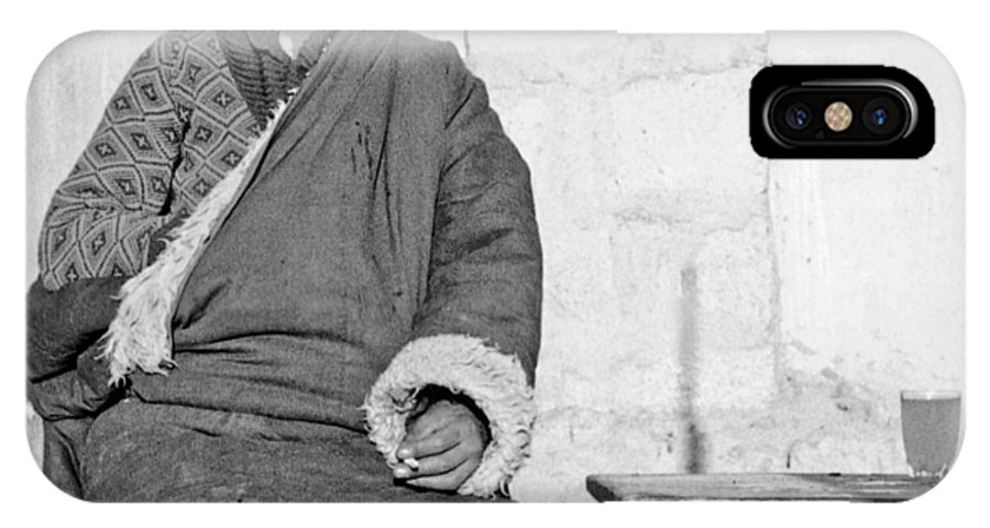 Tibet IPhone X Case featuring the photograph Tibetan Gunslinger by Neil Pankler