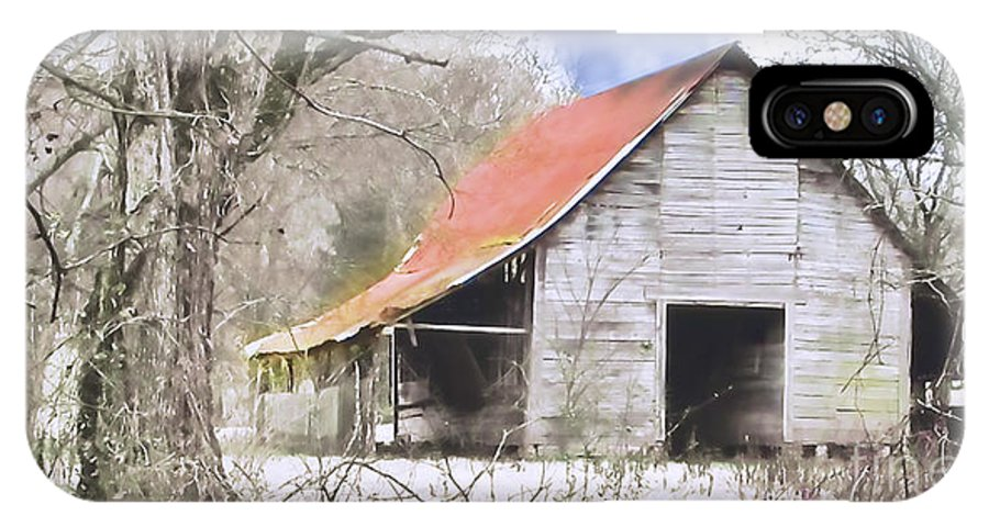 Barn IPhone X Case featuring the photograph Timeless by Betty LaRue