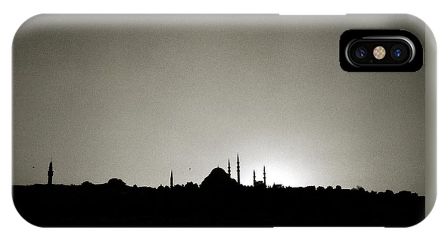 Istanbul IPhone X Case featuring the photograph Timeless Istanbul by Shaun Higson