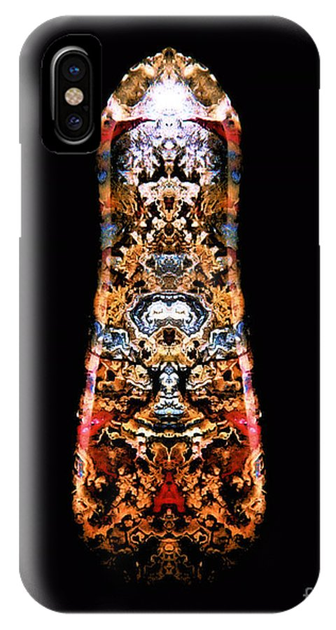 Pictolith - Pictures In Stone IPhone X Case featuring the photograph Top Count D by James Christiansen